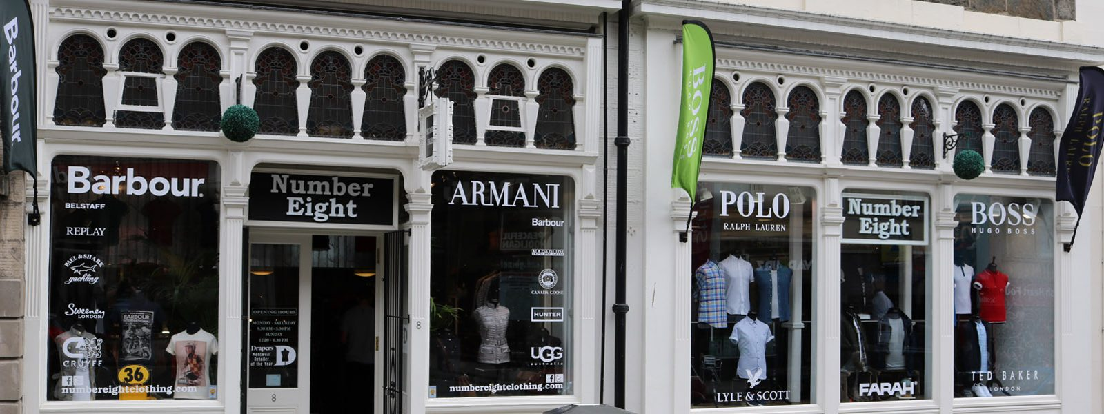 top brands available for Shopping In Stirling