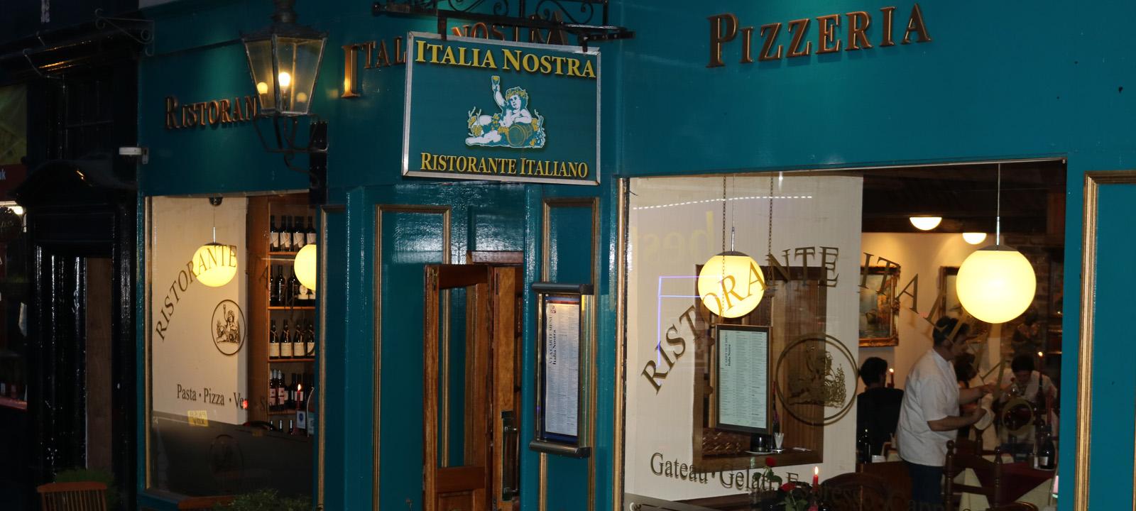 Italia Nostra Exterior Evening