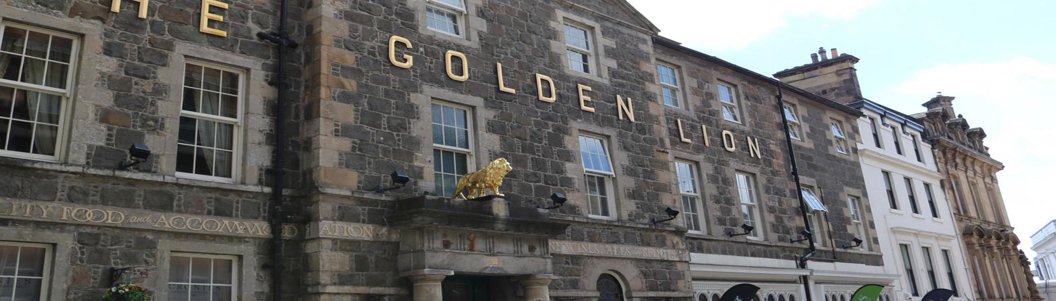 Golden Lion Hotel Stirling City Centre