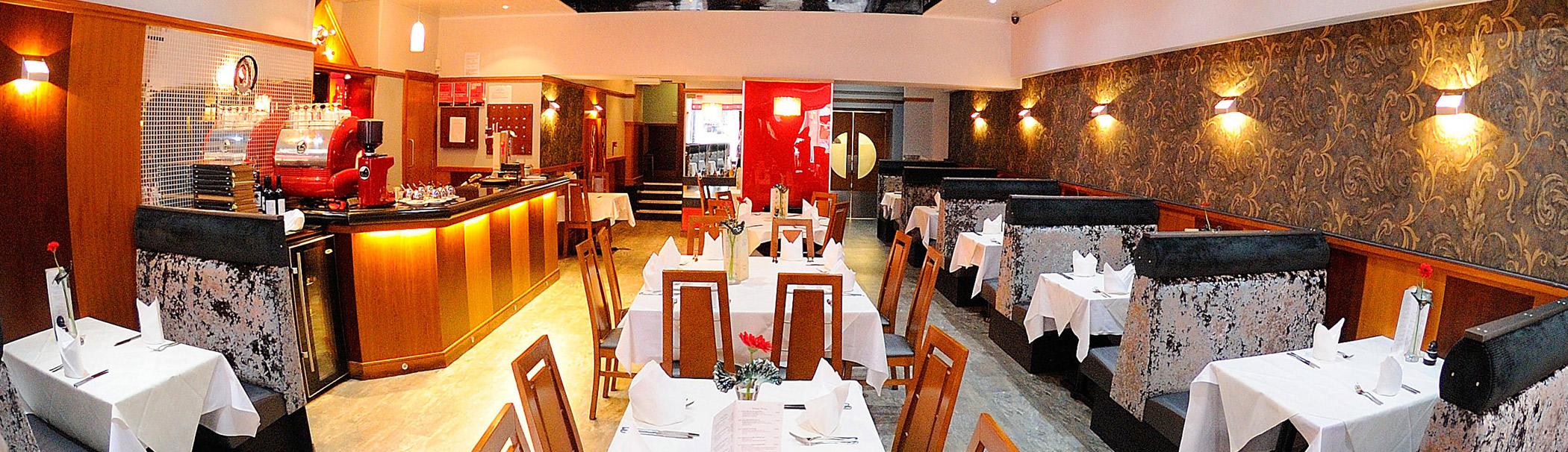 ranas stirling restaurant header