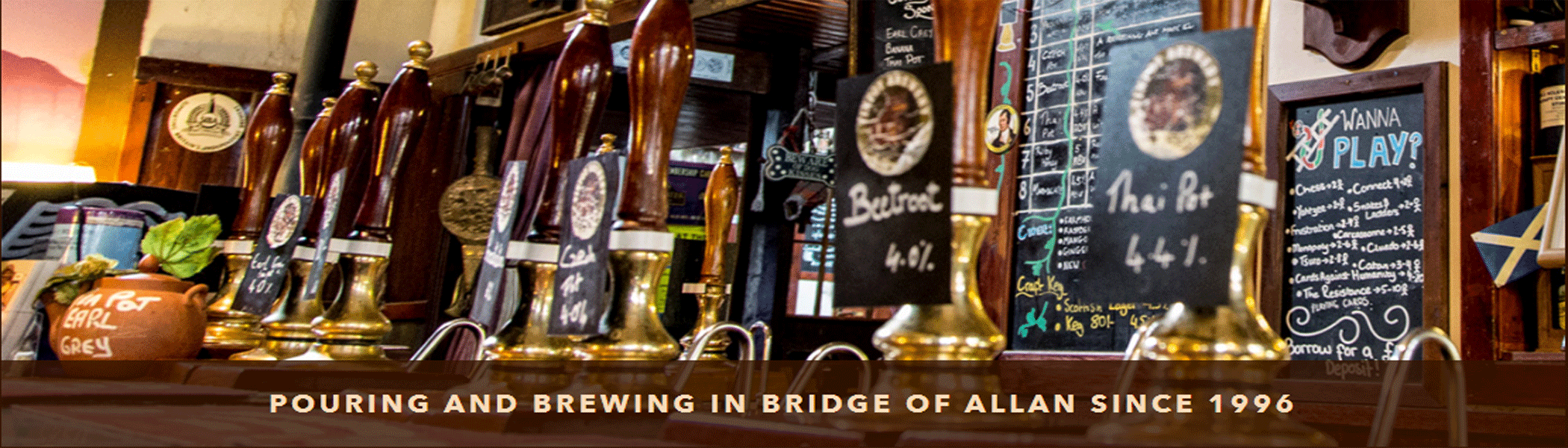 Bridge Of Allan Allanwater Brewhouse