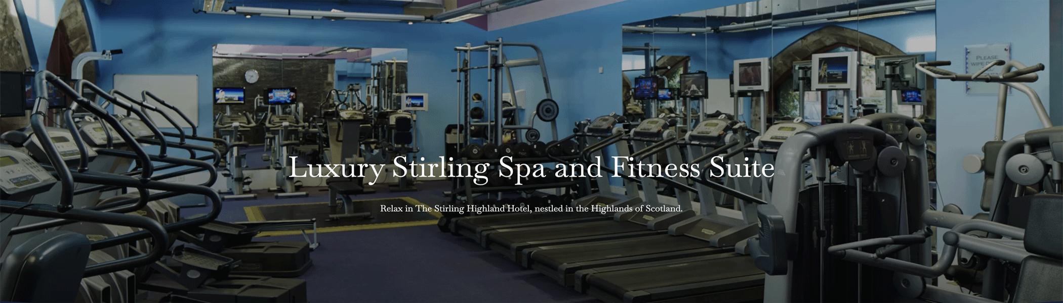 Stirling Highland Hotel gym