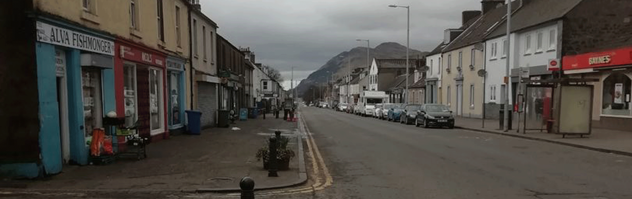 Alva main street £1.6m upgrade