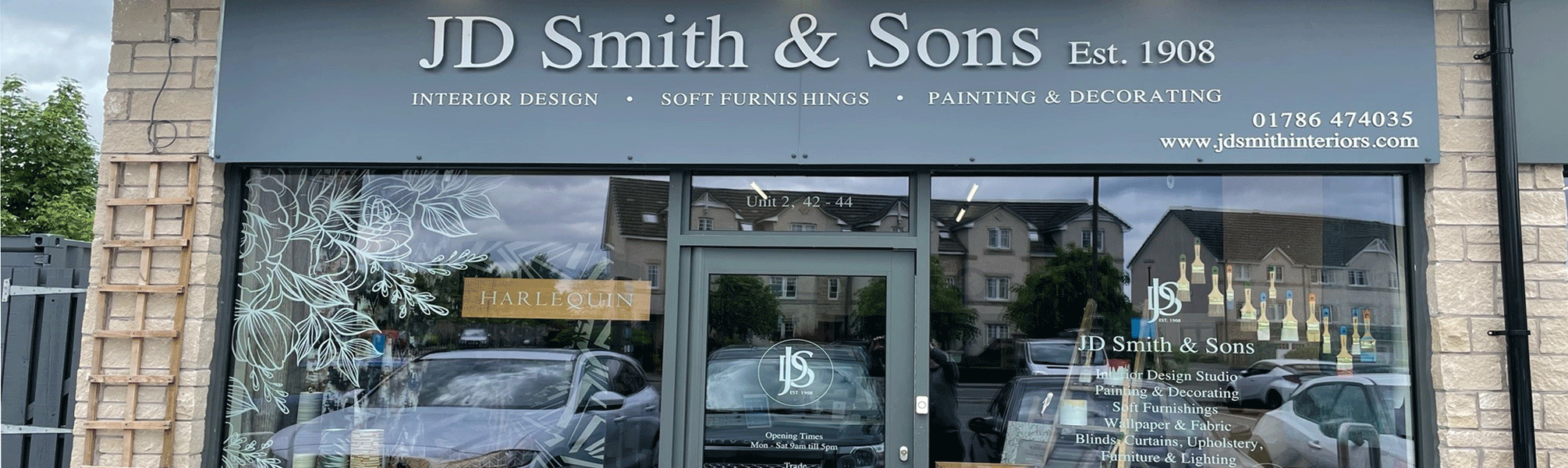 JD Smith Causewayhead-Paint-Decorate